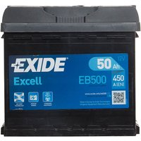 Exide Excell Battery 012 50AH 450CCA