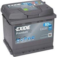 Exide Premium Battery 012 53AH 540CCA