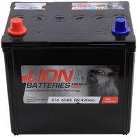 Lion Battery 014 60AH 420CCA
