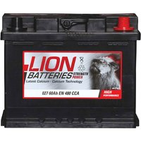 Lion Battery 027 60AH 480CCA