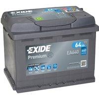 Exide Premium Battery 027 64AH 640CCA