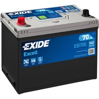 Exide Excell Battery 031 70AH 540CCA