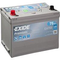 Exide Premium Battery 031 75AH 630CCA
