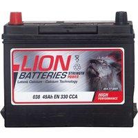 Lion Battery 038 45AH 330CCA