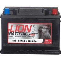 Lion Battery 075 60AH 520CCA