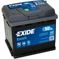 Exide Excell Battery 077 50AH 450CCA