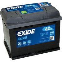 Exide Excel Battery 078 62AH 540CCA