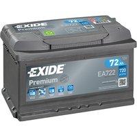 Exide Prem Battery 100 72AH 720CCA
