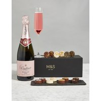 The Collection Rose Champagne & Chocolates Gift Box (Pre Order)
