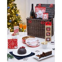 M&S Christmas Classic Hamper With Fizz (Pre Order)