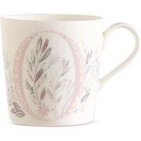 Floral Alphabet O Mug