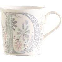 Floral Alphabet D Mug