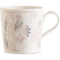 Floral Alphabet F Mug