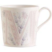 Floral Alphabet M Mug