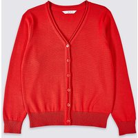 Girls Pure Cotton Cardigan