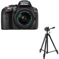 NIKON D5300 DSLR Camera, 18-55 mm f/3.5-5.6 Lens & Tripod Bundle