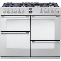 STOVES Sterling R1100DFT Dual Fuel Range Cooker - Stainless Steel, Stainless Steel