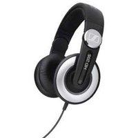 SENNHEISER HD 205 Headphones - Black & Silver, Black & Silver