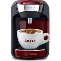 BOSCH SUNY TAS3203GB Coffee Machine - Red, Red
