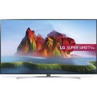 LG 86SJ957V 86 Smart 4K Ultra HD HDR LED TV - Silver & Black, Silver