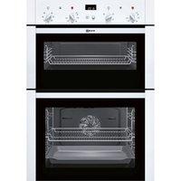 NEFF U14M42W5GB Electric Double Oven - White, White