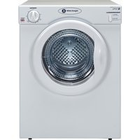 WHITE KNIGHT  C38AW Vented Tumble Dryer - White, White