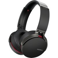 SONY Extra Bass MDR-XB950B1B Wireless Bluetooth Headphones - Black, Black