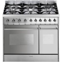 SMEG C92DX8 Dual Fuel Range Cooker - Stainless Steel, Stainless Steel