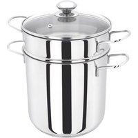 JUDGE JA80 20 cm Pasta Pot - Stainless Steel, Stainless Steel