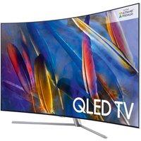 49 SAMSUNG QE49Q7CAMT Smart 4K Ultra HD HDR Curved Q LED TV