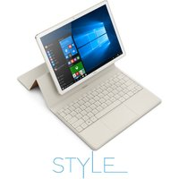 HUAWEI MateBook 12 2 in 1 - White & Champagne Gold, White