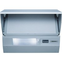 SIEMENS LE64130GB Integrated Cooker Hood - Silver, Silver