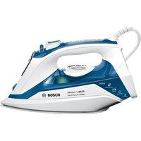 BOSCH TDA7060GB Steam Iron - White & Blue, White