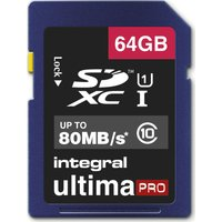 INTEGRAL UltimaPro Class 10 SDHC Memory Card - 64 GB