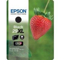 EPSON Strawberry 29 XL Black Ink Cartridge, Black