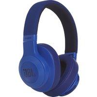JBL E55BT Wireless Bluetooth Headphones - Blue, Blue