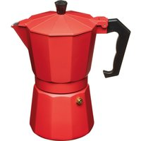 LEXPRESS Italian Style Espresso Coffee Maker - Red, Red