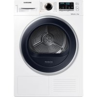 SAMSUNG DV90M5000QW/EU 9 kg Heat Pump Tumble Dryer - White, White