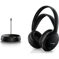 PHILIPS SHC5200/10 Wireless Headphones - Black, Black