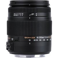 SIGMA 18-250 mm f/3.5-6.3 DC HSM OS Telephoto Zoom Lens with Macro - for Nikon