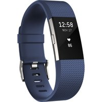 FITBIT Charge 2 - Blue, Large, Blue