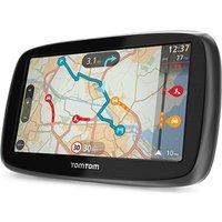 TOMTOM GO 50 5 GPS Sat Nav - with UK & ROI Maps