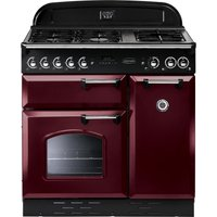 RANGEMASTER  Classic 90 Gas Range Cooker   Cranberry   Chrome  Cranberry