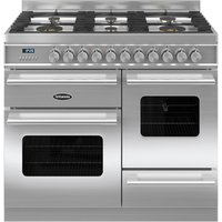 BRITANNIA Delphi 100 RC10XGGDES Dual Fuel Range Cooker - Stainless Steel, Stainless Steel