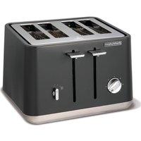 MORPHY RICHARDS Aspect 240004 4-Slice Toaster - Titanium, Titanium