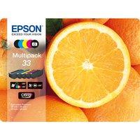 EPSON No. 33 Oranges 5-Colour Ink Cartridges - Multipack