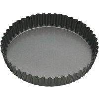 MASTER CLASS KCMCHB40 30 cm Non-stick Quiche Tin - Black, Black