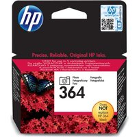 HP 364 Black Photo Ink Cartridge, Black