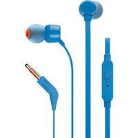 JBL T110 Headphones - Blue, Blue
