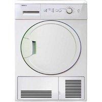 BEKO  DCU8230 Condenser Tumble Dryer - White, White
